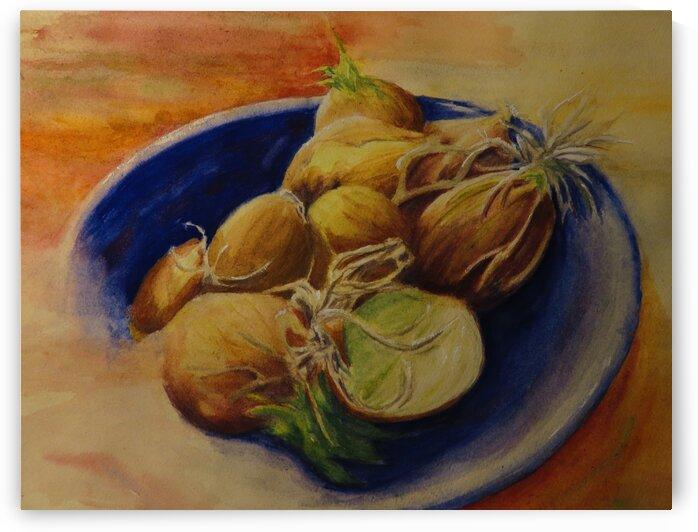 Onions Anyone by Leah Saban