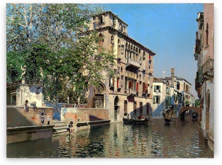 Streets of Venice by Martin Rico y Ortega