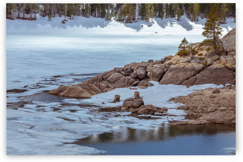 Caples Lake Thaw by Nicholas