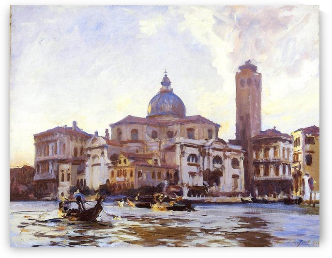 The Palace of Venice by Martin Rico y Ortega