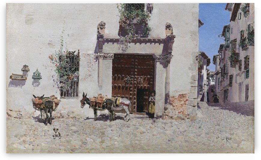 La Aguadora by Martin Rico y Ortega