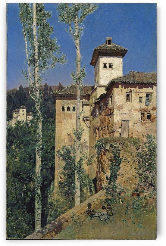 La Torre De Las Damas by Martin Rico y Ortega