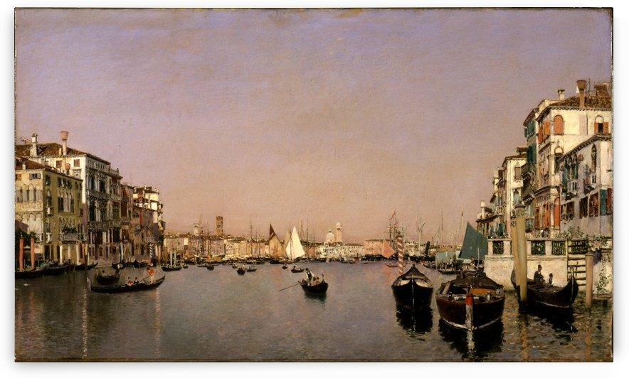 A second view of Venice by Martin Rico y Ortega