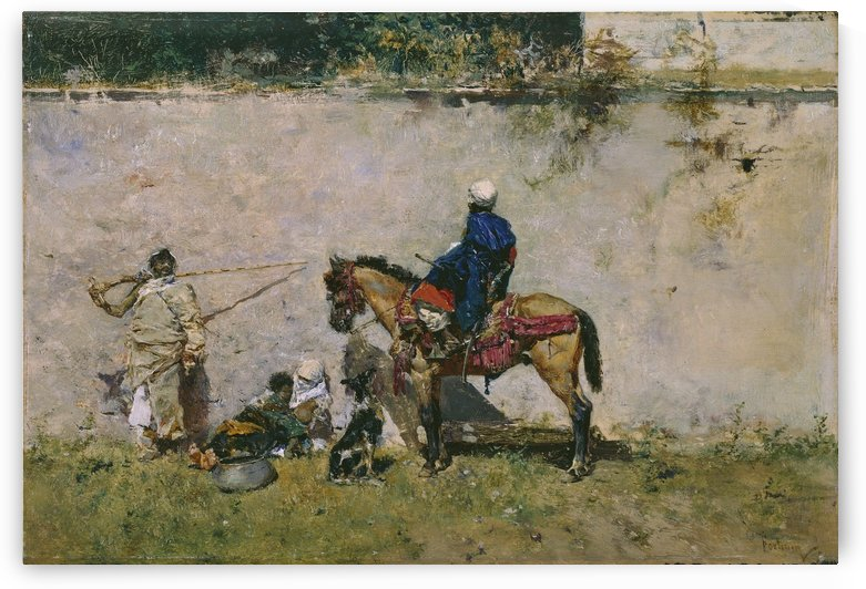Fortuny y marsal by Martin Rico y Ortega