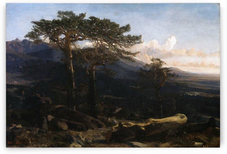 Two trees by Martin Rico y Ortega
