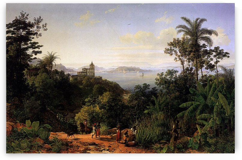 View of Rio de Janeiro by Thomas Ender