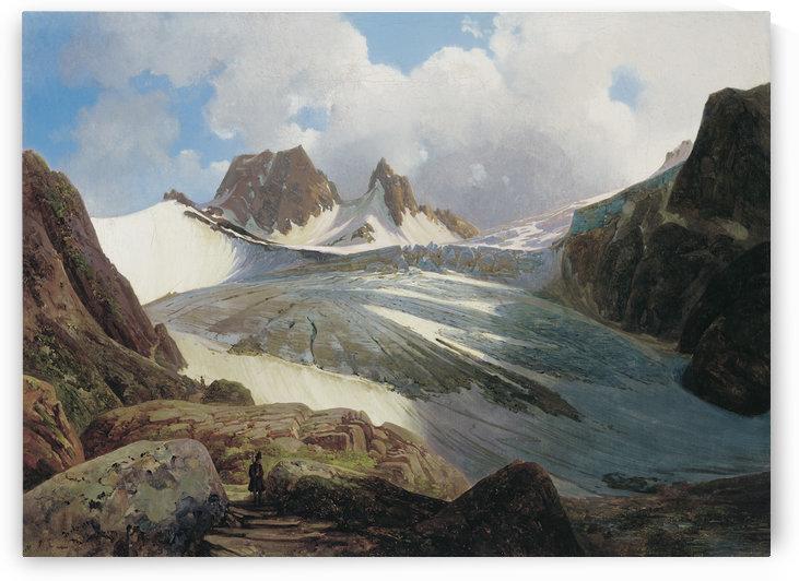 The Vogelmaier Ochsenkar Kees in the Rauris Valley by Thomas Ender