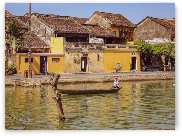 Cruising through Hoi An by Dan Edel
