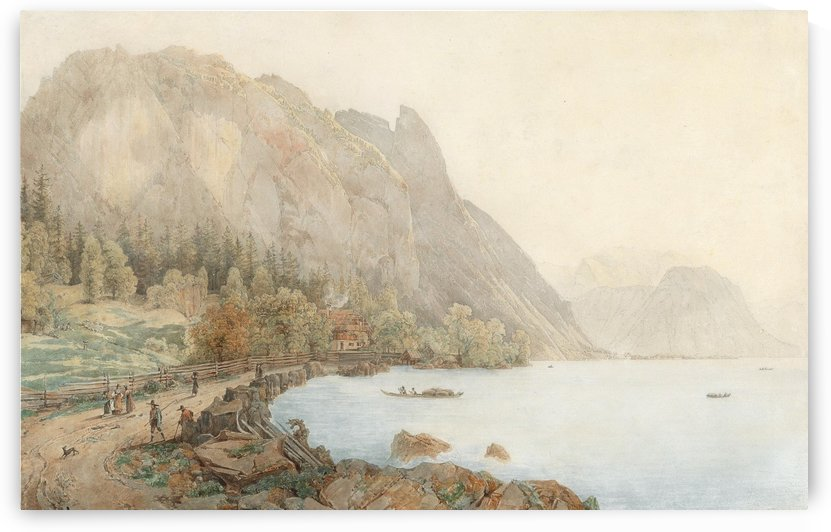 Mountains and water by Thomas Ender