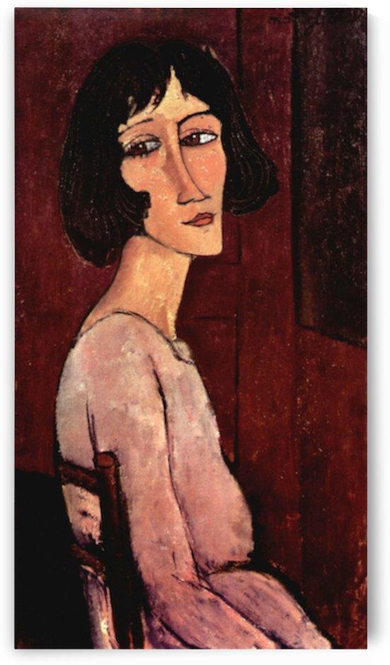 Modigliani - Portrait of Margarita by Modigliani