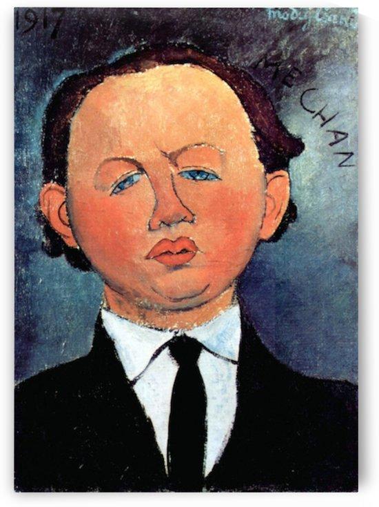 Modigliani - Portrait of Mechan by Modigliani