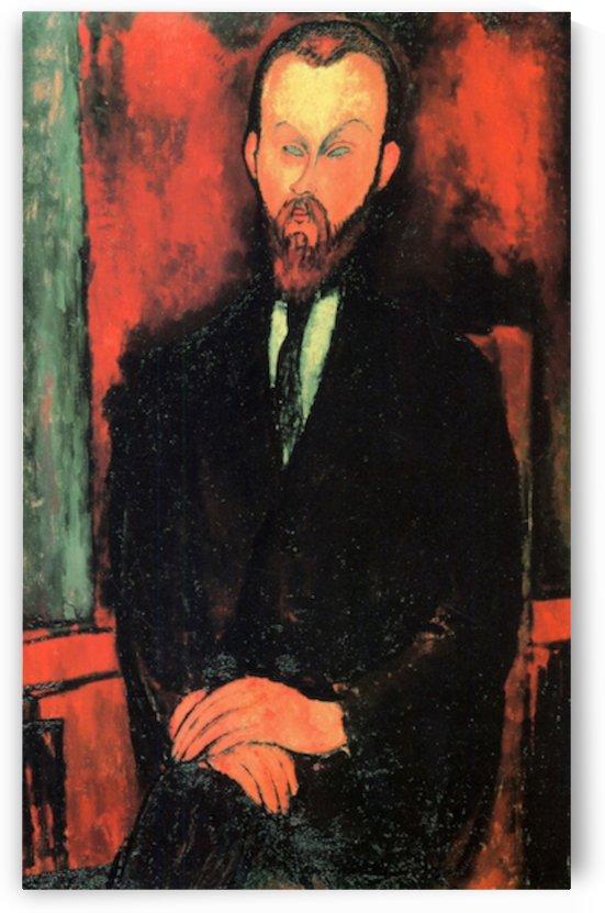 Modigliani - Portrait of Mr Wielhorski by Modigliani