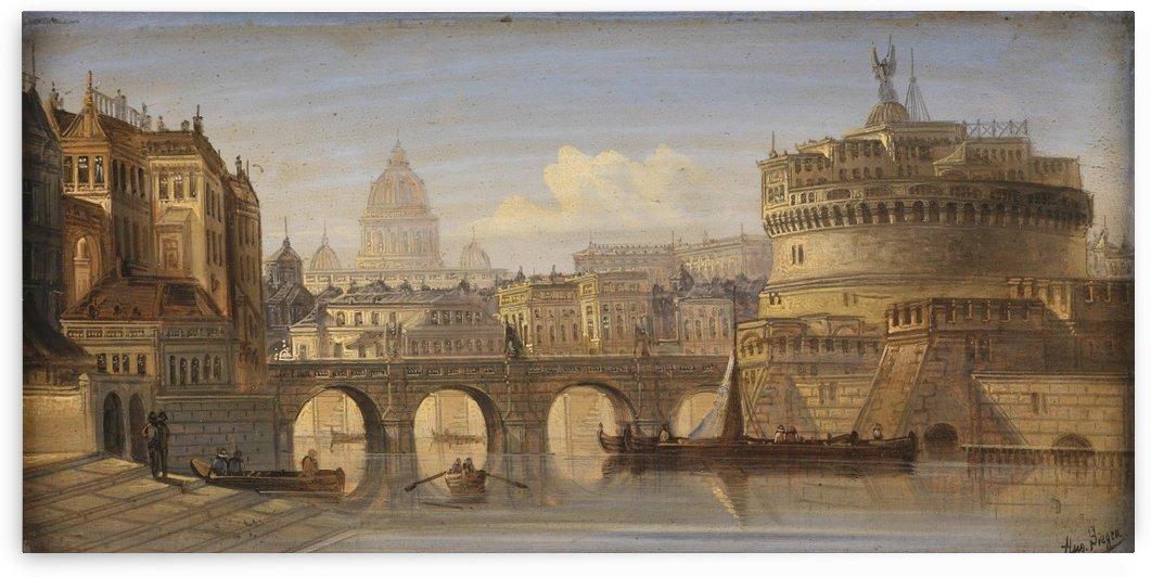 Rom Engelsburg by August von Siegen