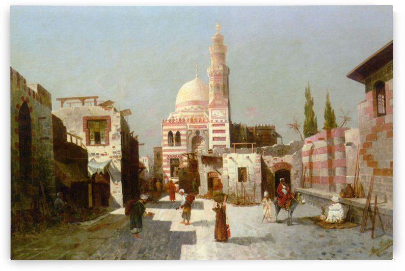Entrance to the Complex of Sultan Quatbay by August von Siegen
