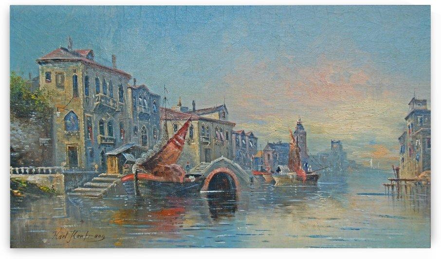 Venedig by August von Siegen