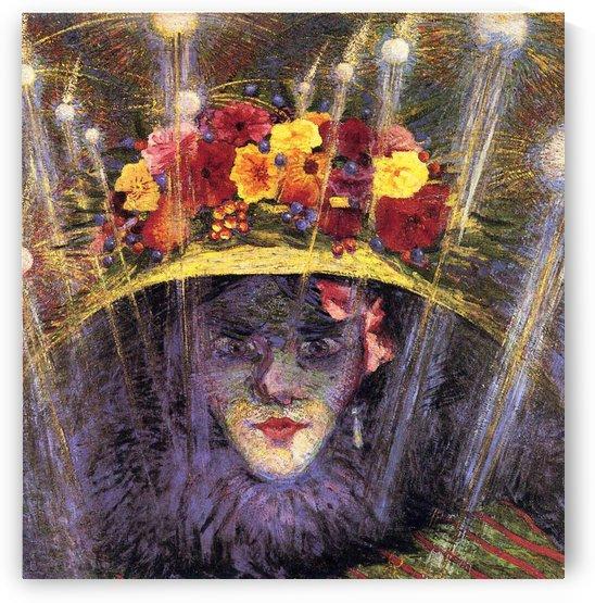 Modern Idol by Umberto Boccioni