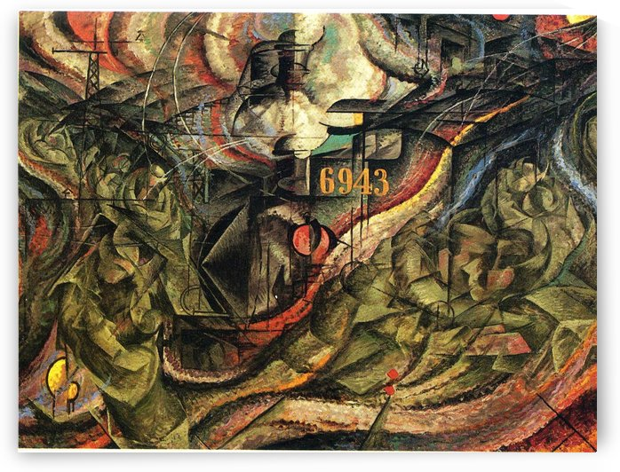 States of Mind by Umberto Boccioni