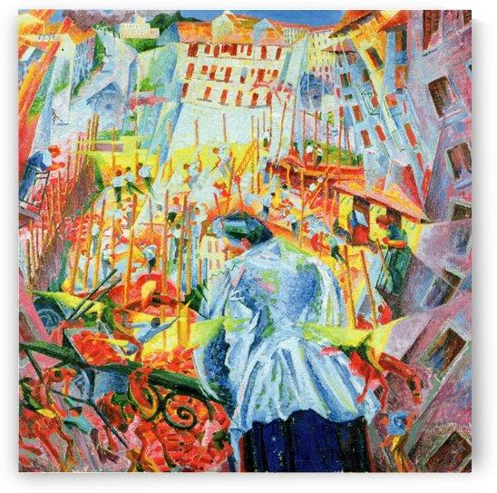 Noise by Umberto Boccioni