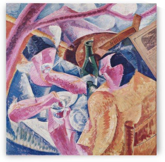 Under the Pergola at Naples by Umberto Boccioni