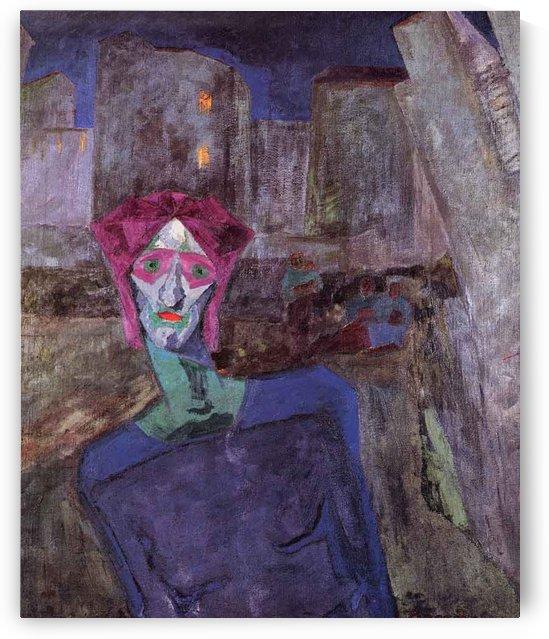 Nocturne by Umberto Boccioni