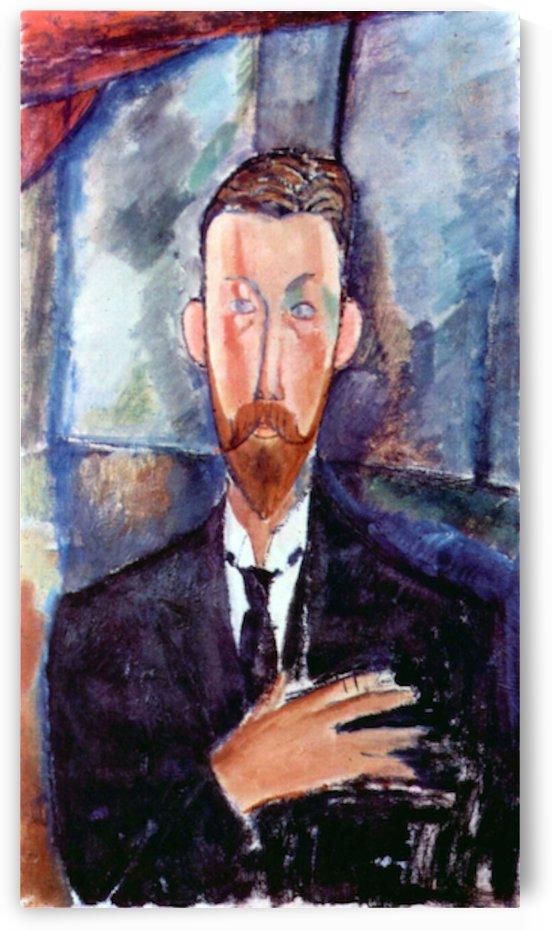 Modigliani - Portrait of Paul Alexanders by Modigliani