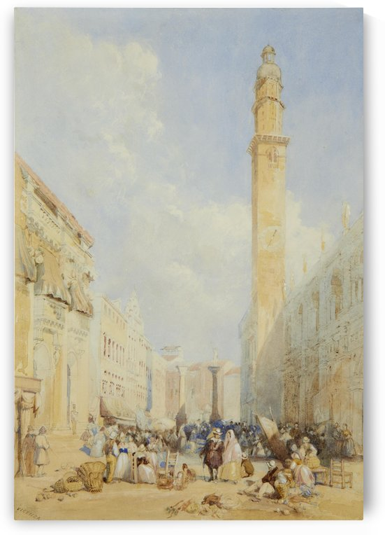 Vicenza by James Duffield Harding