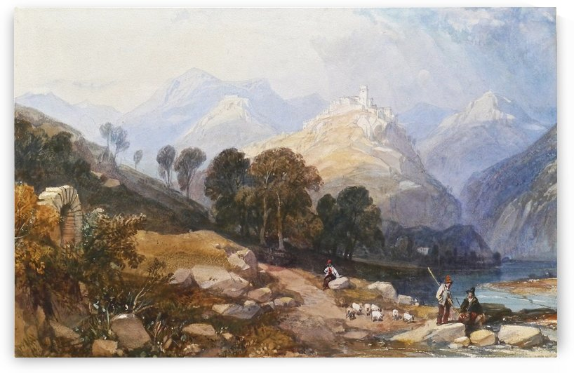 Landscape of rural life by James Duffield Harding