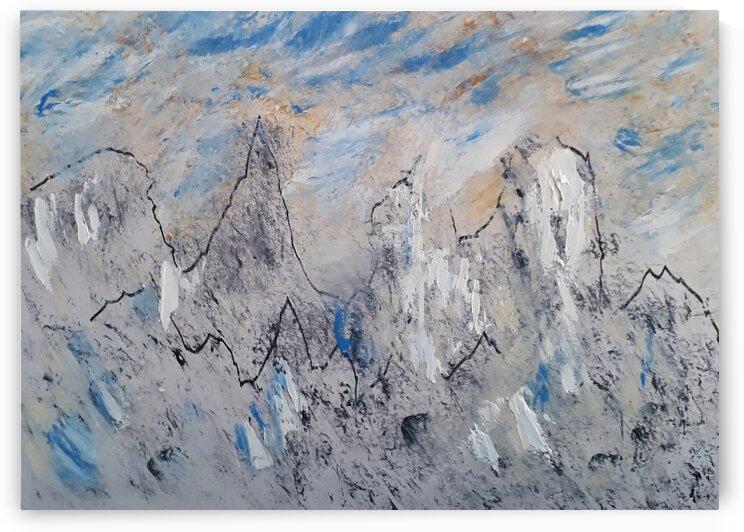 Berge by Irene Ragoss