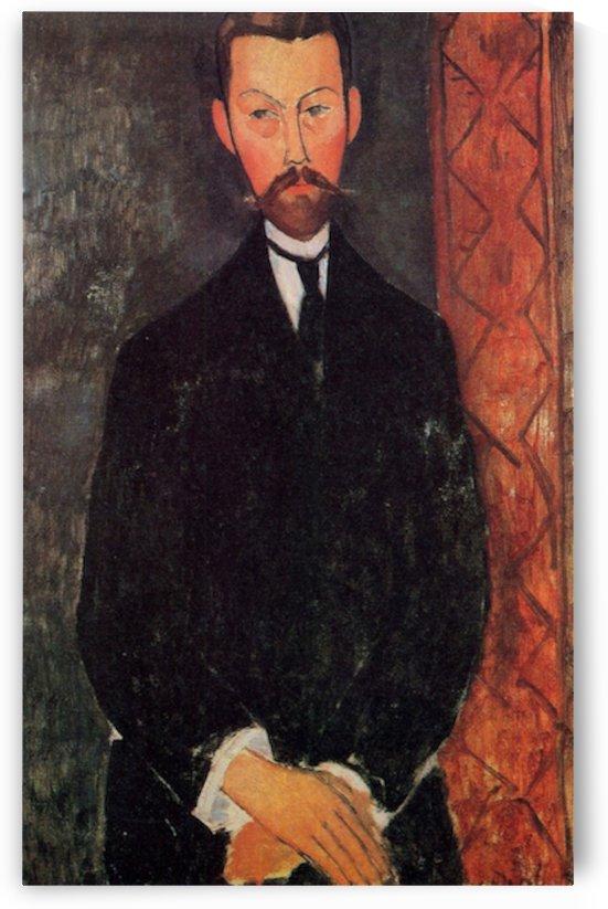 Modigliani - Portrait of Paul Alexandre by Modigliani