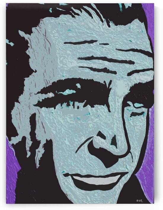 man in purple by Robert Owen Margetts