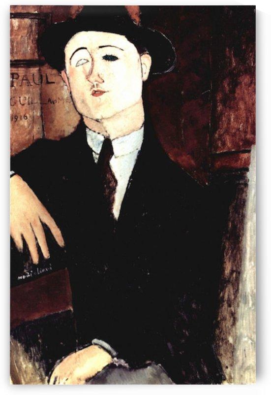 Modigliani - Portrait of Paul Guillaume by Modigliani