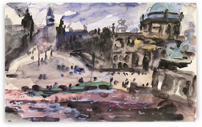 Freedom Castle by Lovis Corinth by Lovis Corinth
