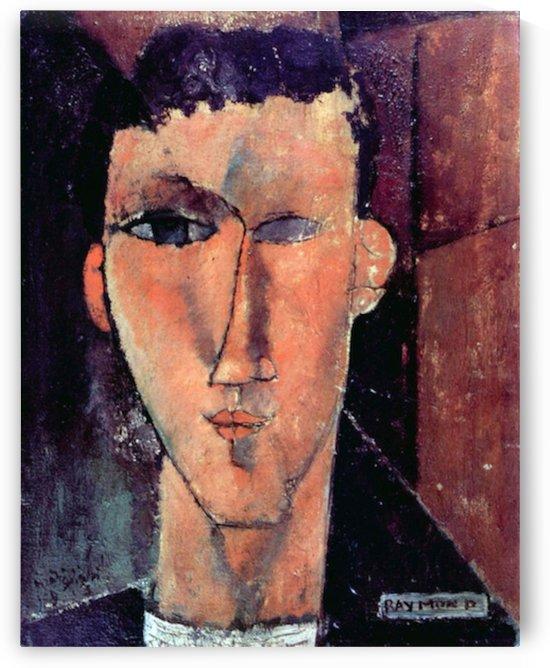 Modigliani - Portrait of Raymond by Modigliani