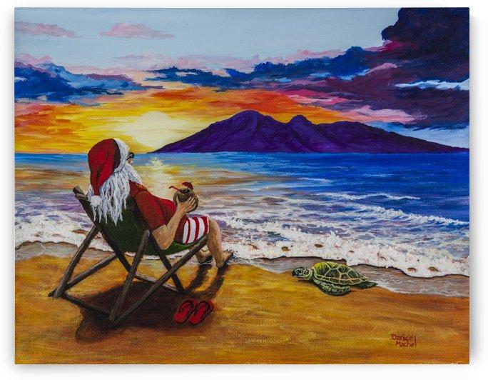 Sunset Santa by Darice Machel McGuire