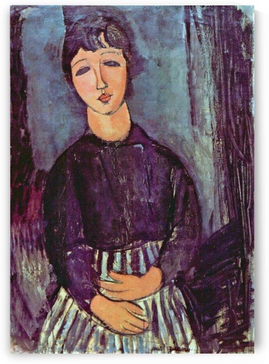 Modigliani - Portrait of Zofe by Modigliani