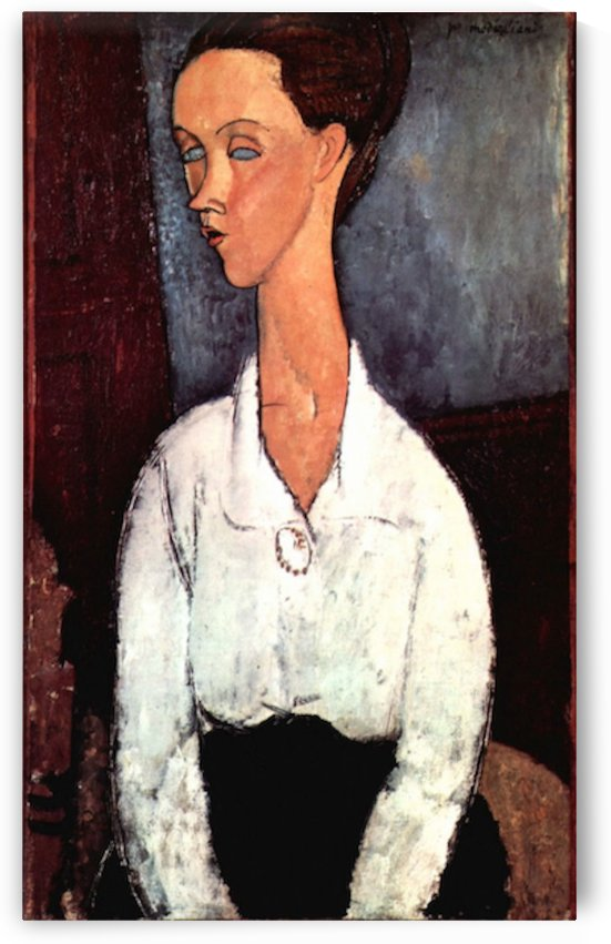 Modigliani - Portrait by Modigliani