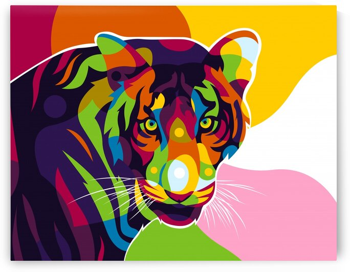 The Bengal Colorful Inside by wpaprint