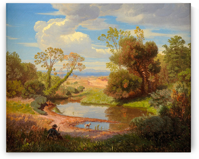 Romische Landschaft by Andreas Achenbach