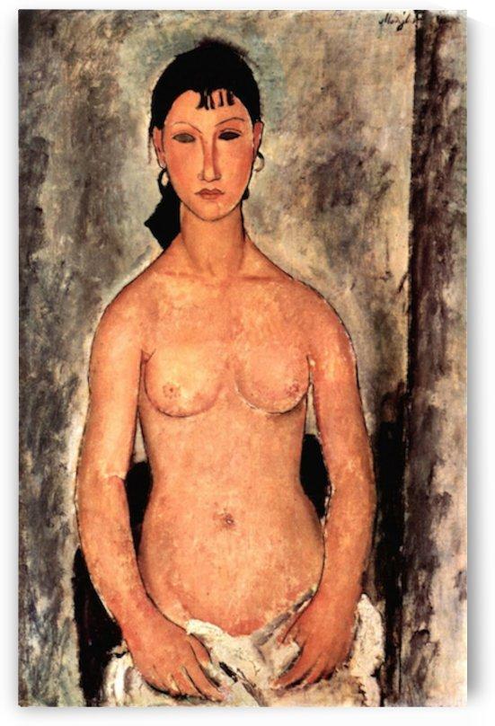 Modigliani - Standing Elvira by Modigliani