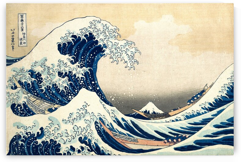 Hokusai Wave PRINT by ArtbyArt