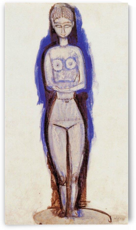 Modigliani - Standing Nude by Modigliani