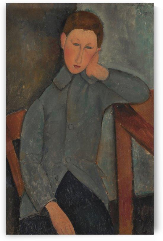 Modigliani - The boy by Modigliani