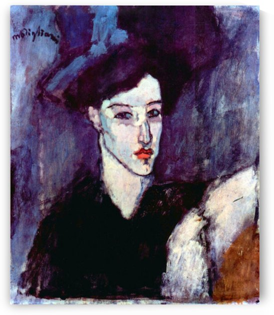Modigliani - The Jewess by Modigliani