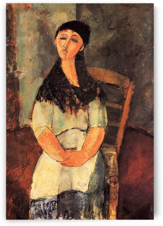 Modigliani - The little Louise by Modigliani
