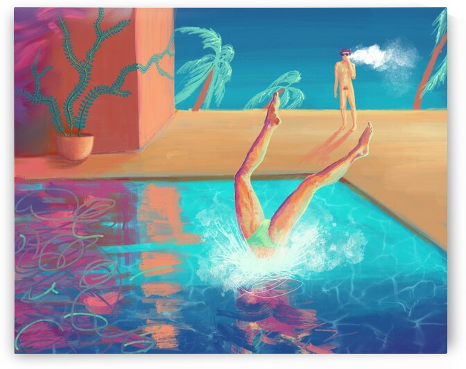 hot summer by Elena Vizerskaya