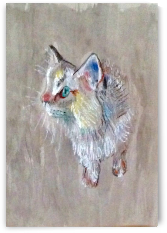 Kitty Koodles by Zaramar Paintings