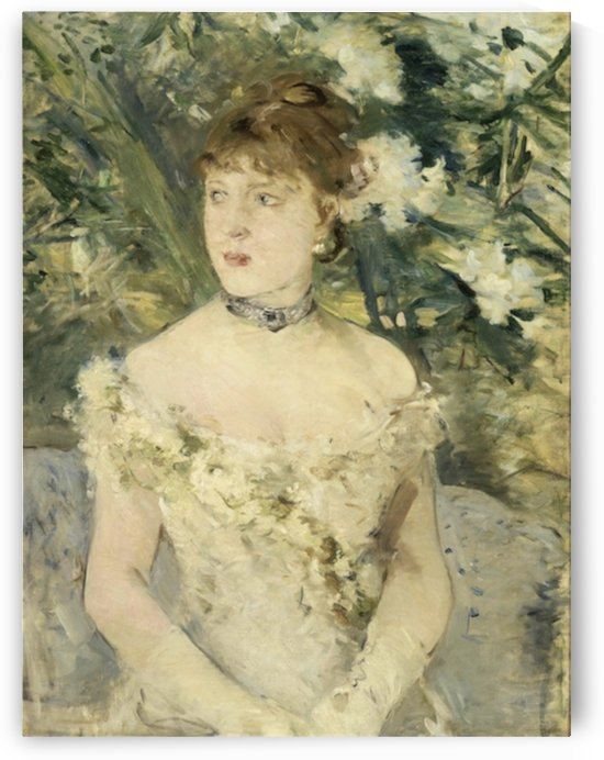 Morisot - Young Girl in a Ball Gown by