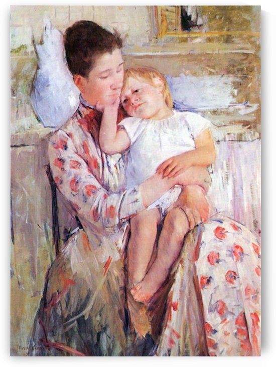 Mother and Child by Cassatt by Cassatt