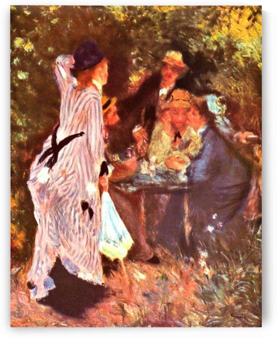 Moulin de la Galette by Renoir by Renoir