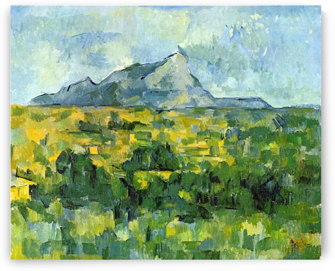 Mount St. Victiore by Cezanne by Cezanne